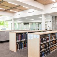 Weber State University Cantilever Library Shelving