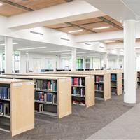 Weber State University Custom Library Shelving