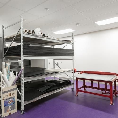 Weber State University Library Spacesaver RaptorRac Shelving