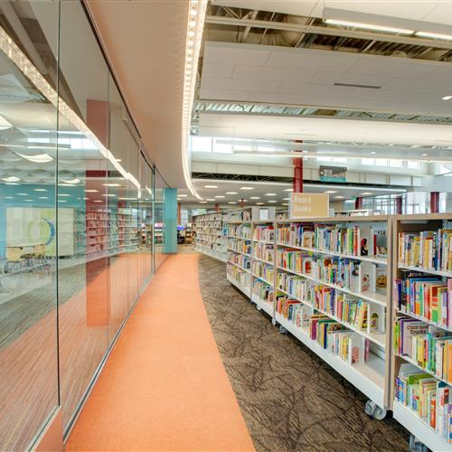 Library book shelving solutions for public libraries