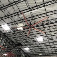 Z-tech industrial facility fan in warehouse