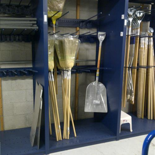 Static Shelving Storing Brooms at the Utah Transit Authority.jpg
