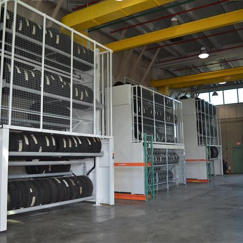 Tire Carousel in maintenance warehouse.JPG