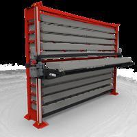 Barstock vertical lift system