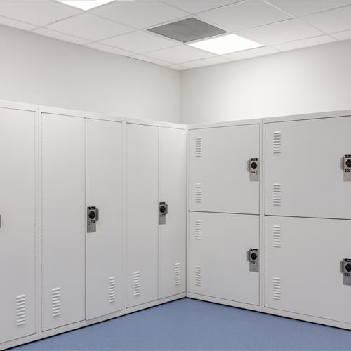 Gear Lockers for West Valley Police Department