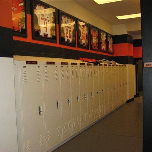 Training Manager Locker Room Storage at OSU