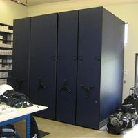 Seattle Sounders Soccer Equipment Storage