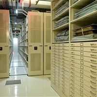 Archival Book Storage at The Pennsylvania Rare Collections Library