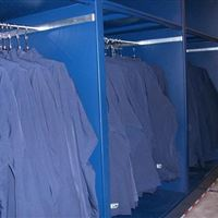 Seattle Seahawks athletic equipment storage on mobile