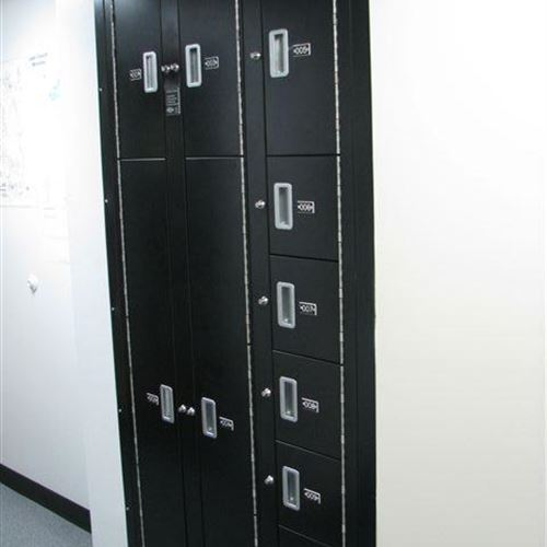 Evidence Lockers Built-in Wall