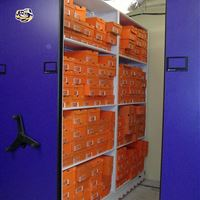 Baseball Shoe Storage on Mobile System at LSU
