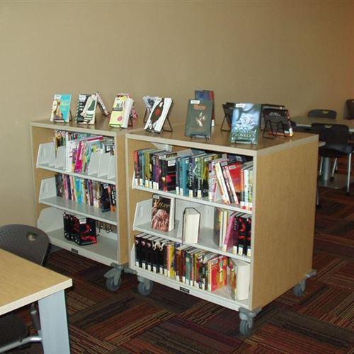 WRXWheels Library Shelving