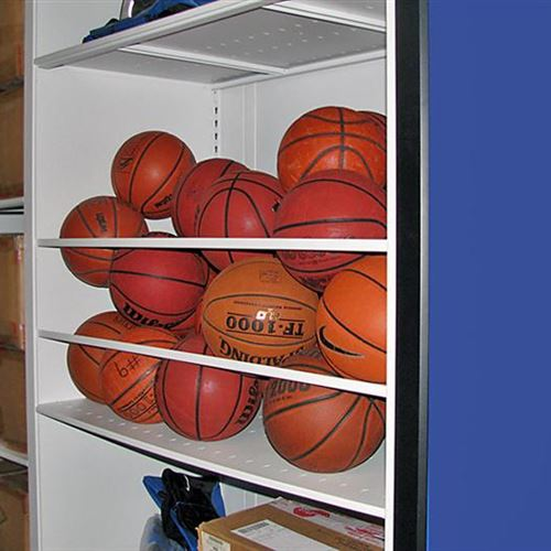 Basketball Storage on Secure Mobile System at Duke University