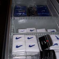 Organized Basketball Gear in Drawers at Duke University