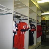 Hanging Jersey Storage on Mobile System
