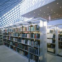 Cantilever Library Shelving System at Seattle Public Library