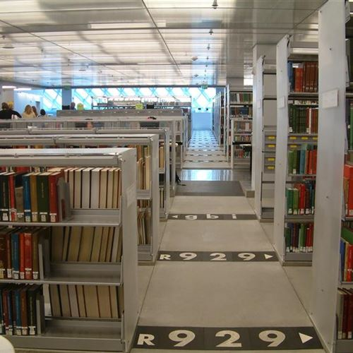Library Bookstacks at Seattle Public Library