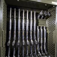 Weapon Rack with Custom Configuration
