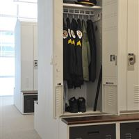 Personal Storage Lockers for Police Officer Gear
