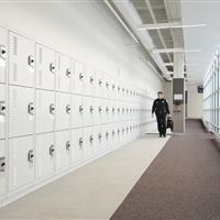 Gear Bag Storage Lockers at Skokie Police Department