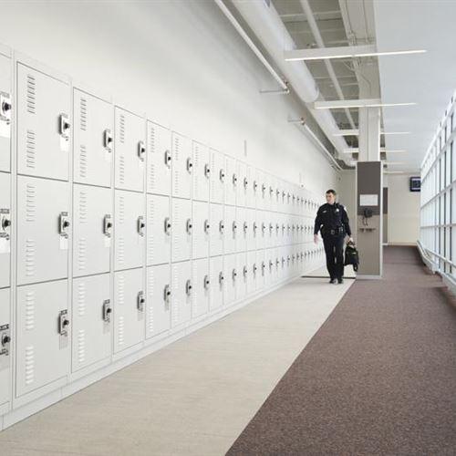Gear Bag Storage Lockers at Skokie Police Department