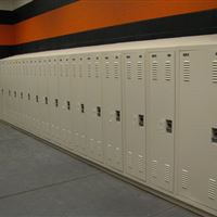 Football Locker Storage at OSU