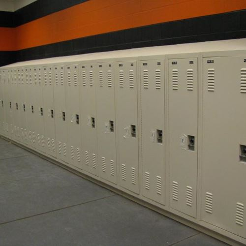 Football Locker Storage at OSU