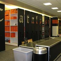OSU Football Equipment Storage Room