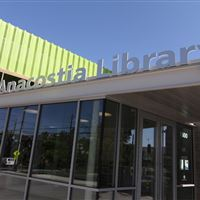 Anacostia Public Library in Washington DC