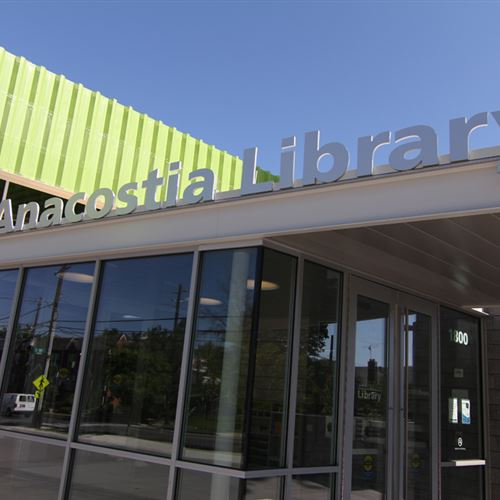 Anacostia Public Library in Washington DC