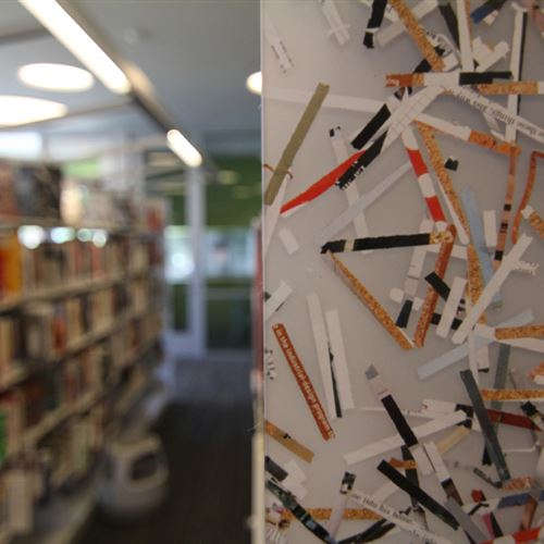 Anacostia Public Library Static Shelving