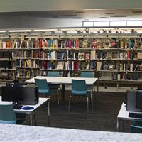 Anacostia Cantilever Library Shelving