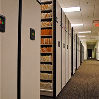 Eclipse Powered High Density Mobile Shelving