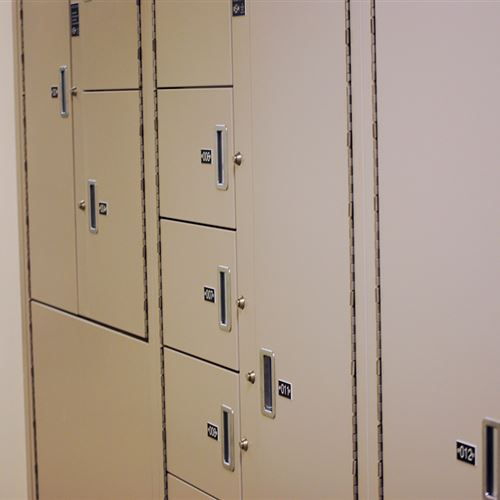 Secure Evidence Storage Lockers
