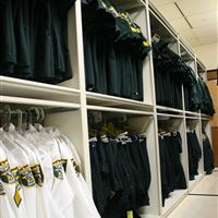 Uniform Storage at Martin County Sheriff's Office