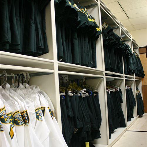 Uniform Storage at Martin County Sheriff's Office