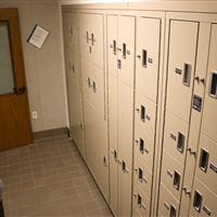 Sheriff's Office Evidence Room Storage Lockers