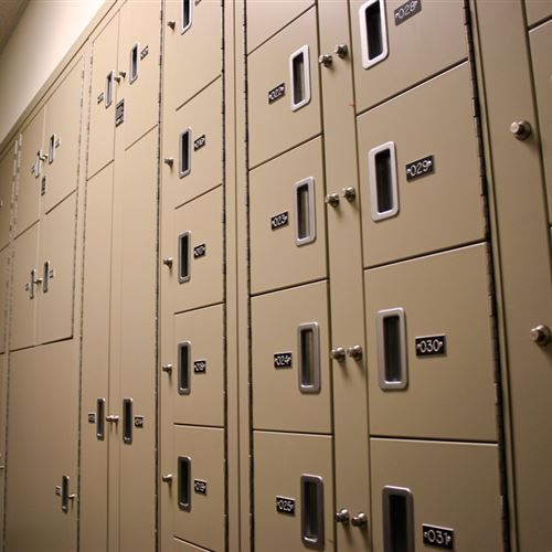 Sheriff's Office Evidence Lockers