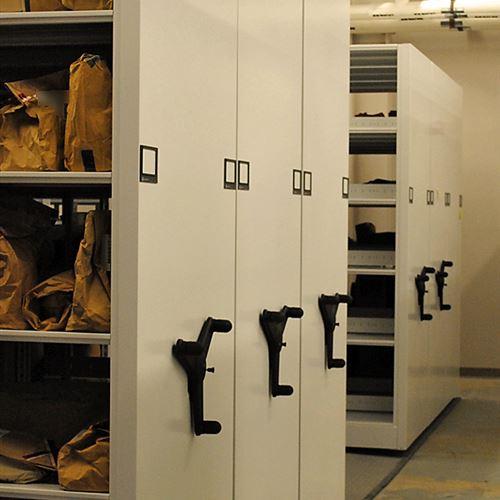 High Density Mobile Storage for Evidence