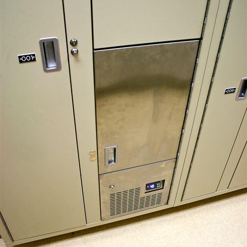 Refrigerated Evidence Locker Storage