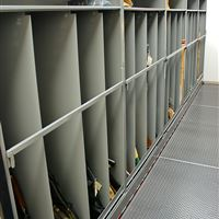 Weapon Evidence Storage on Mobile Shelving