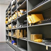 Evidence Room Storage at Cabarrus County Sheriff's Department