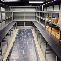 Cabarrus County Jail Storage Shelving