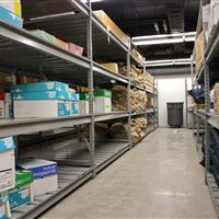 Wide Span Shelving for Supply Storage