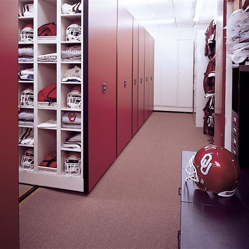 Football Equipment Storage at University of Oklahoma