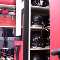 Athletic Equipment Storage on Mechanical-Assist Mobile System
