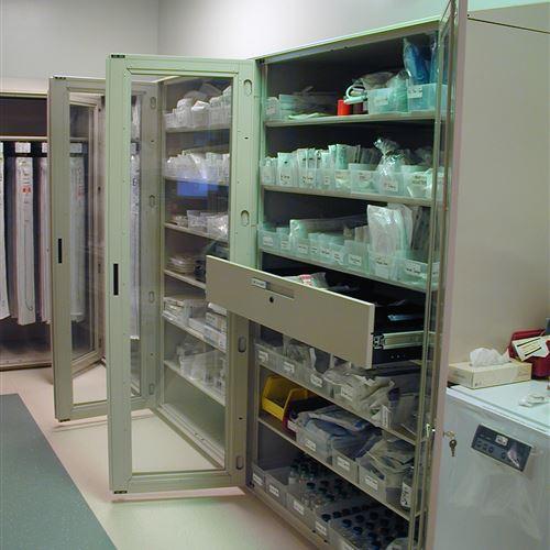 Elmhurst Memorial Cath Lab Cabinets