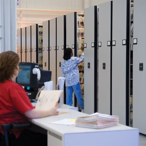 Medical Records Storage - Mercy Health Partners Calls 911