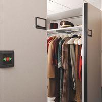 Clothing Storage on Museum Storage System