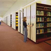 Library storage at Central Michigan University